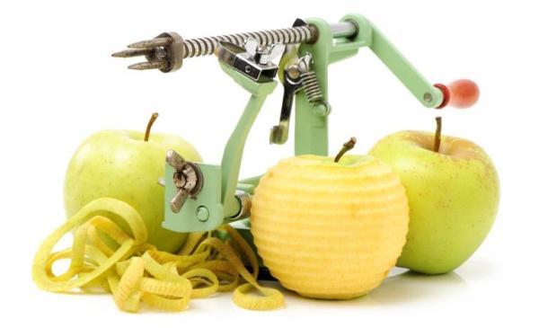 coltello per la pulizia della mela