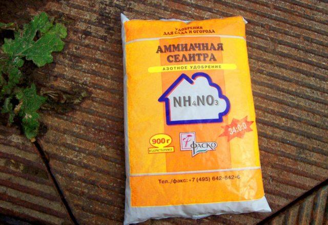 Nitrato di ammonio