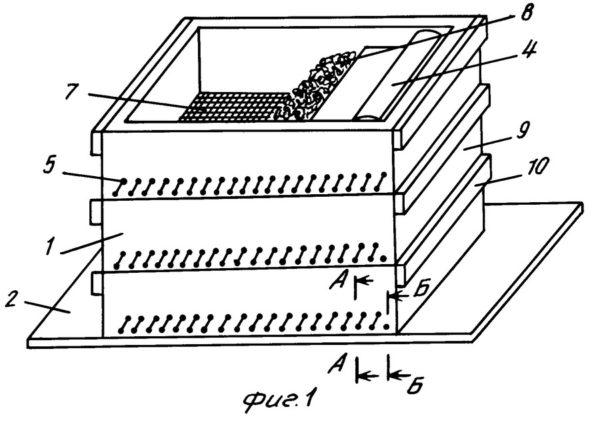 Layout della scatola del verme