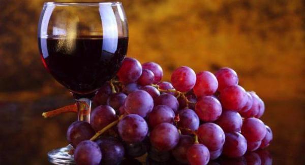 Il vino di Lydia contiene molti nutrienti