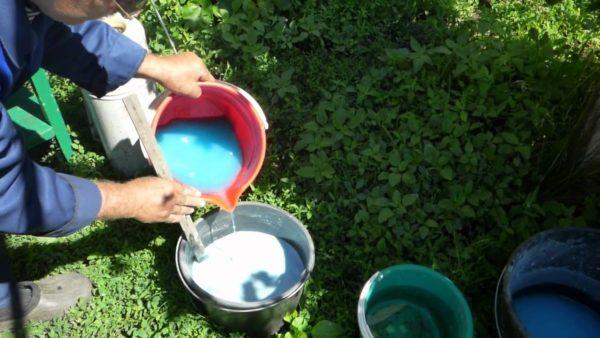 Il processo di coltivazione del solfato ferroso per la lavorazione delle colture