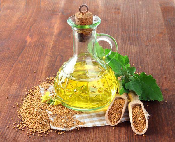 L'olio di senape ha effetti anti-infiammatori.