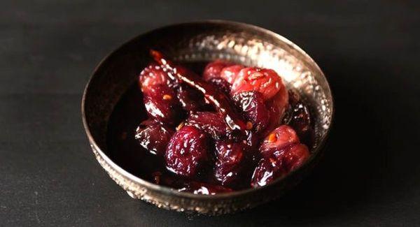 Ricetta della salsa dell'uva