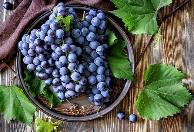 vitamine nell'uva