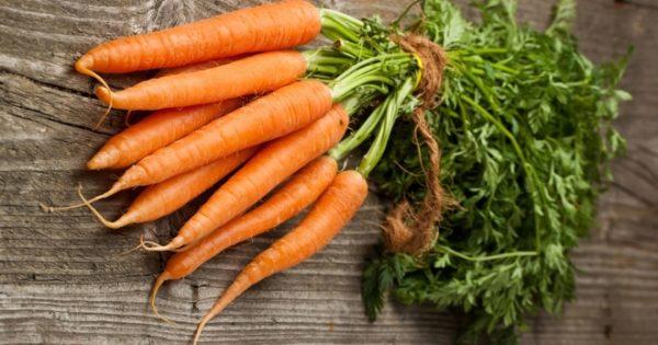 piantare carote usando il metodo kizima